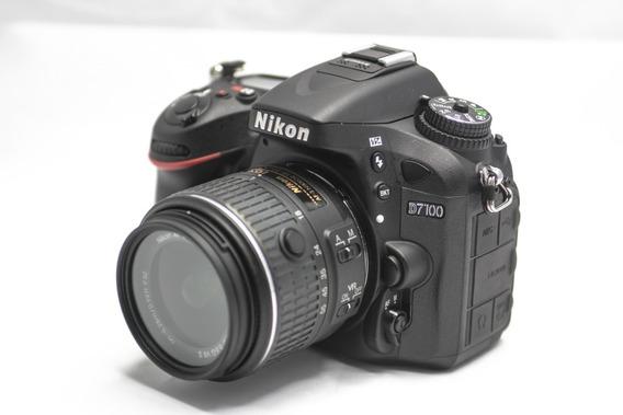 Nikon D7100 + Lente 18-55 Vr Ii Somente 1549 Cliques