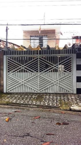 Sobrado Residencial À Venda, Parque Santo Eduardo, São Paulo - So5052. - So5052