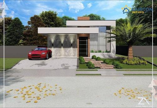 Imagem 1 de 12 de Casa Com 3 Dormitórios À Venda, 146 M² Por R$ 930.000,00 - Buona Vita - Atibaia/sp - Ca2292