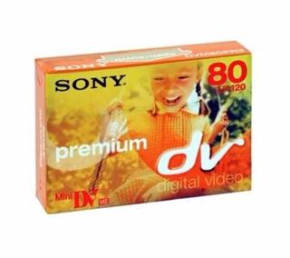 Mini Dvd Sony Premium 80 Min Dvm80pr