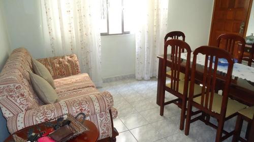 Apartamento Com 2 Dormitórios À Venda, 77 M² Por R$ 300.000,00 - Gonzaga - Santos/sp - Ap4352
