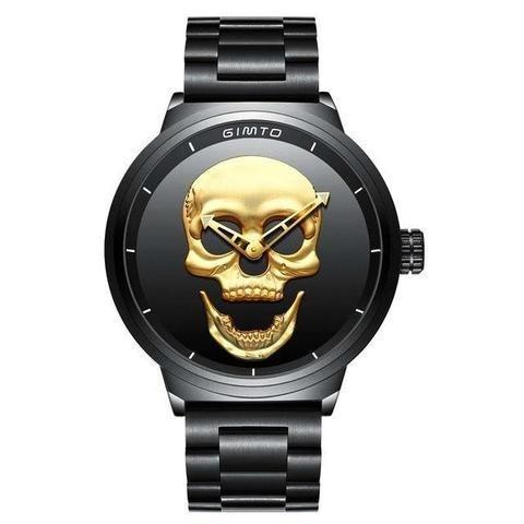 Relógio Caveira Skull
