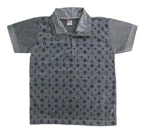 05 Camisa Camiseta Polo Infantil Menino Roupas Atacado