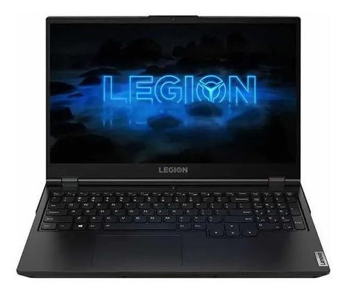 """Imagen 1 de 7 de Notebook gamer Lenovo Legion 5i negra 15.6"""", Intel Core i7 10750H  16GB de RAM 512GB SSD, NVIDIA GeForce RTX 2060 120 Hz 1920x1080px Windows 10 Home"""
