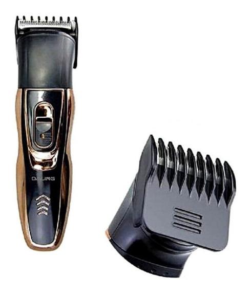 Aparador Profissional De Cabelo, Nariz E Barba Daling 3 Em 1 Dl-9007