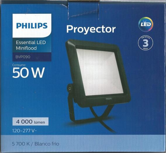 Projetor Essential Led Miniflood Bvp 090 50w Philips 4000 Lu