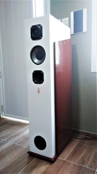 Caixas De Som, Para Mini System Ou Receiver 4,6,ou 8 Ohms