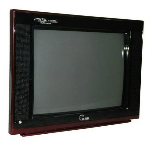 Televisor Tv Krk 14  Convencional Con Control A Color