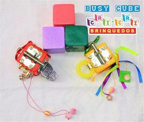 Busy Cube Educativo, Versão Menor Do Nosso Busy Board