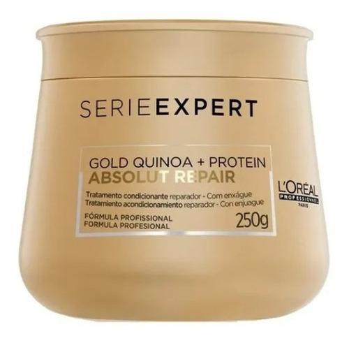 Máscara Loreal Absolut Repair Gold Quinoa + Protein 250g