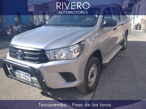 Toyota Hilux Dx 4x4 2.7 2017 Impecable!