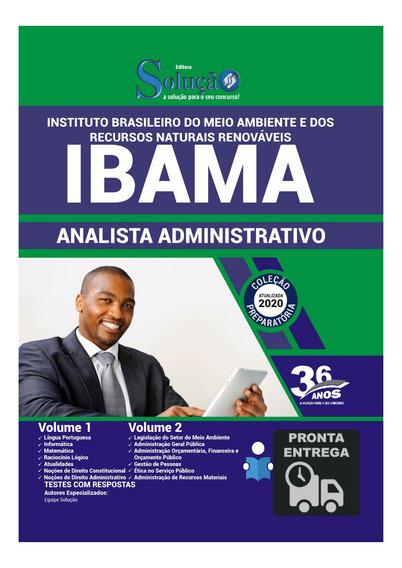 Apostila Concurso Ibama Analista Administrativo Livro