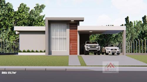 Sitio Novo A Venda Em Estilo Moderno No Condomínio Vale Do Luar - 4130