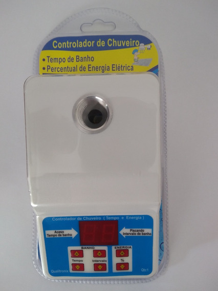Controlador De Chuveiro Qtc1 Qualitronix.