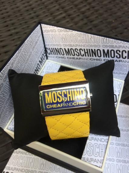 Relogio Moschino - Original Cheap And Chic