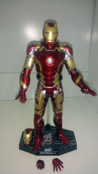 Homem De Ferro 02 Figuras Iron Mark 42/3 1/6 30cm N Hot Toys