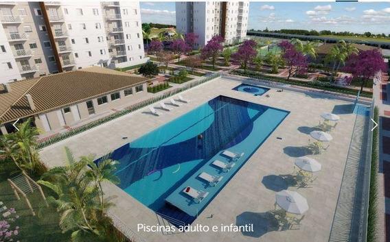 Apartamento Com 2 Dormitórios À Venda, 65 M² Por R$ 350.000 - Vila Mogilar - Mogi Das Cruzes/sp - Ap7333