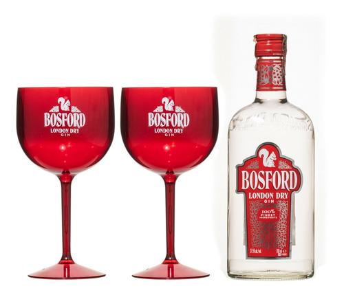 Kit Gin Bosford + 2 Taças