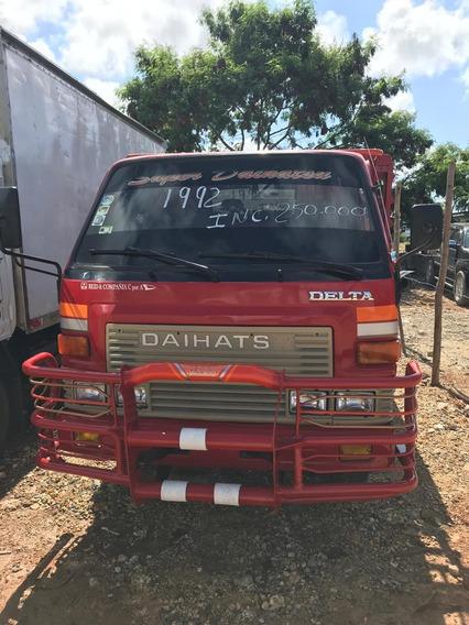 Camion Daihatsu De Oportunidad 1992 Cara Normal Cama Normal