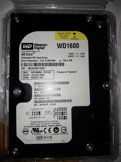Disco Rigido Hdd Pata Ide 160gb Western Digital