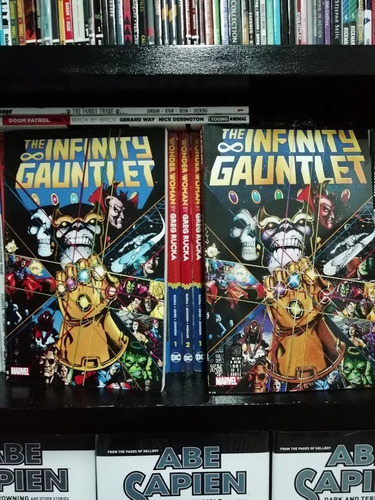 Infinity Gauntlet Tpb Marvel Thanos Jim Starlin Ingles