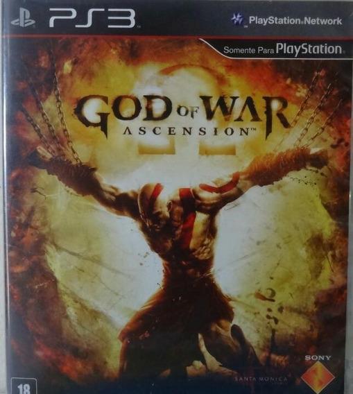 Jogo De Ps3 God Of War Ascencion Midia Física Dublado