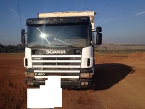 Scania 124 420 Caçamba Basculante 8x4