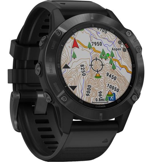 Reloj Garmin Fenix 6 Edición Pro Y Sapphire