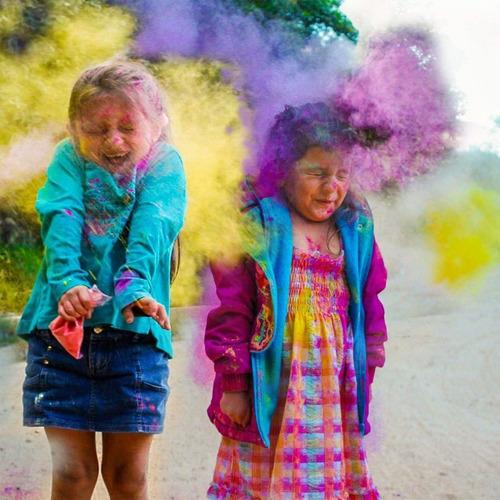 Polvos Holi - Polvos De Colores - Presentación 250g