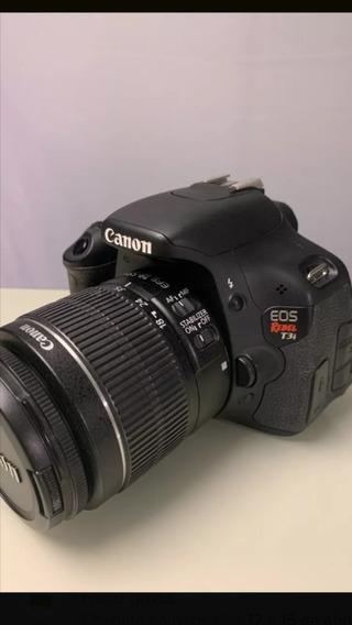Camera Canon T3i Com Lente