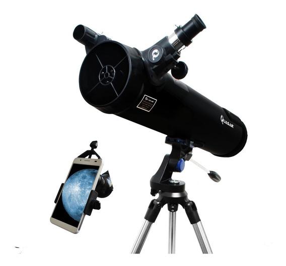 Telescopio Quasar Q114 Adaptador Smartphone 375x