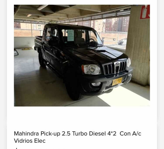 Mahindra Pick-up 2013