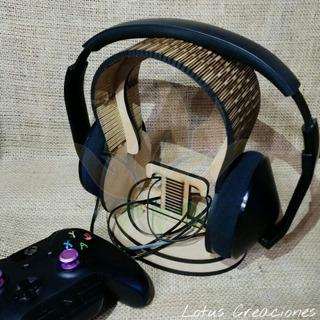 Promo!!! Soporte Headphones - Auriculares -corte Láser- Mdf