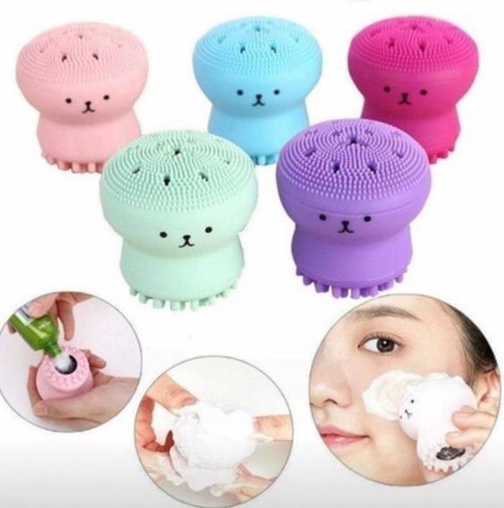 Polvinho Escova De Silicone Facial Estilo Foreo