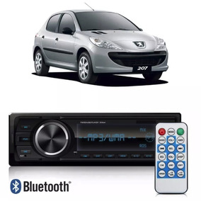 Auto Radio Bluetooth/usb/aux/sd/fm Peugeot 207