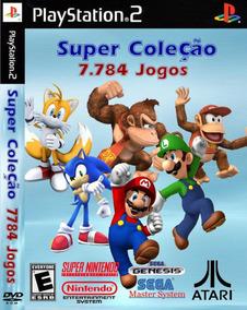 Jogos Super Coleção Playstation 2 Ps2 Play2