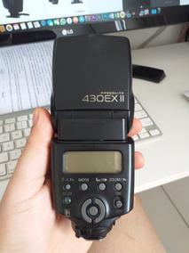 Flash Canon 430ex Ii Com Defeito, (p/ Retirar Peças)