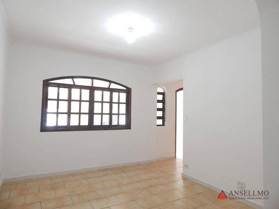 Casa Com 3 Dormitórios Para Alugar, 150 M² Por R$ 2.100,00/mês - Jardim Hollywood - São Bernardo Do Campo/sp - Ca0491