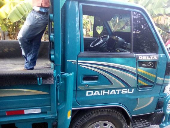Camión Daihatsu Confort 10 Pies Azul 2007 En Condiciones
