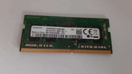 Memoria Sodimm 4gb Ddr4 2666mhz 1.2v Notebook Samsung