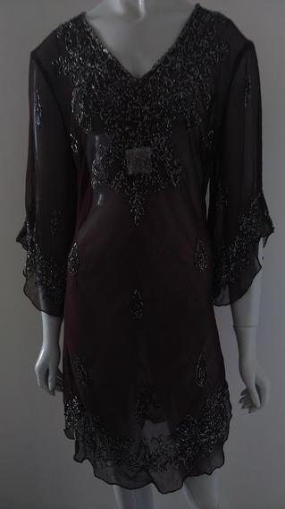 Blusa Vestido Luxo Longa