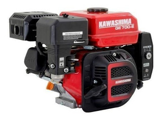 Motor Gasolina Para Barco 7hp Partida Elétrica Kawashima Ekp
