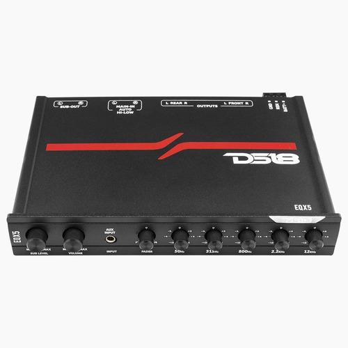 Ecualizador Ds18 De Alto Voltaje 5 Canales Eqx5