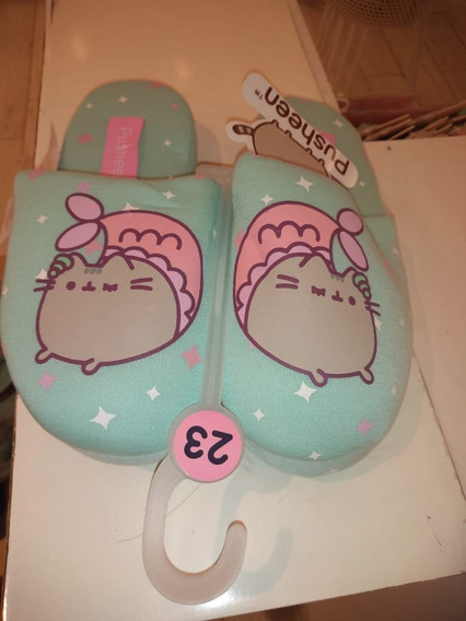 Pantunflas Mermaid Pusheen Tallas 23 24 25