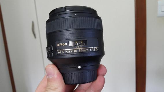 Lente Nikon Af-s 85mm 1.8