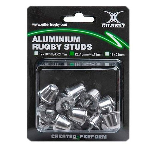 Pack Tapones Rugby Gilbert Aluminio Grande 16x21mm Intercamb