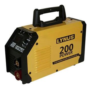 Maquina Solda Inversora Mma200a Lis-200 Power Lynus Bivolt