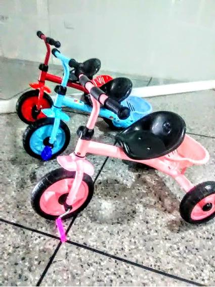 Hermoso Triciclo Regalo Ideal Para Niñas Y Niños,25$.