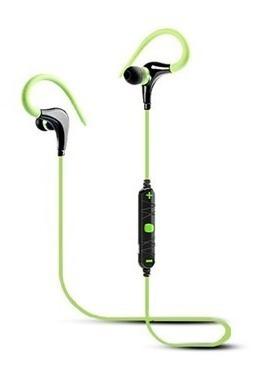 Fone Ouvido Intra-auricular Bluetooth Esporte Verde Elsys