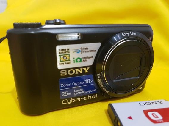 Câmera Sony Cyber Shot Dsc-h55 Em Ótimo Estado + Cartão 4gb